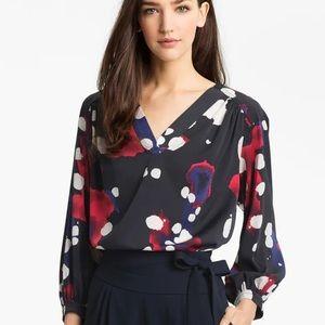 Diane Von Furstenberg Cahil stretch silk blouse
